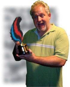 Braddon Mendelson with Skunkie Award