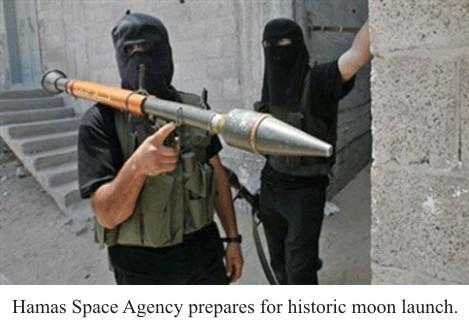 Palestinians Prepare Moon Launch