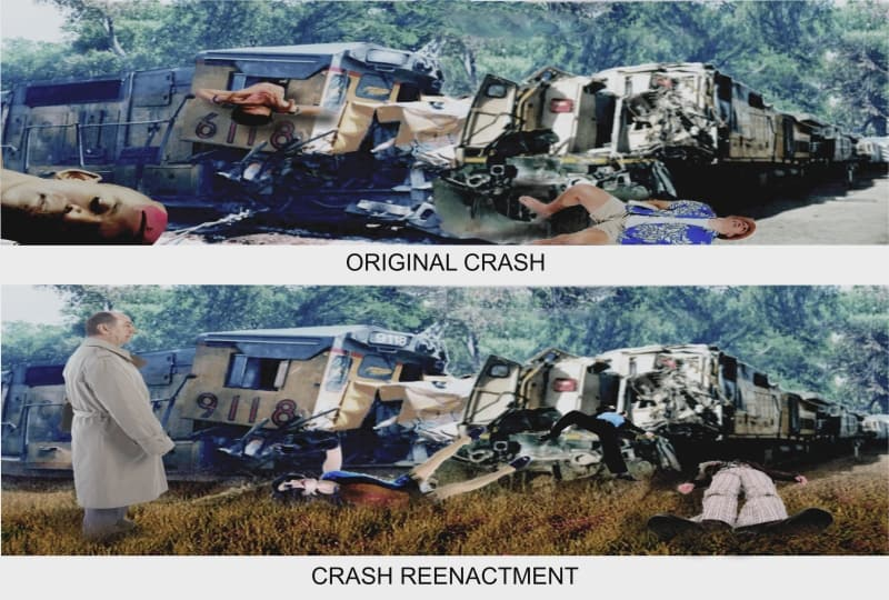 Train Crash Reenactment