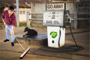 BP Gas station.