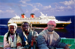 Befuddled Somali Pirates Abandon Attack on Disney Cruise Ship
