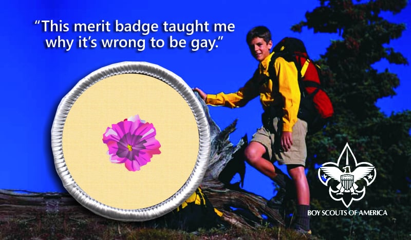 Gay Merit Badge. IRVING, TX (TheSkunk.org) ? The Boys Scouts of America has ...