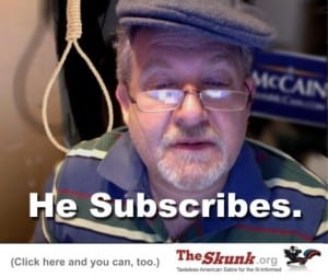 subscriber with noose