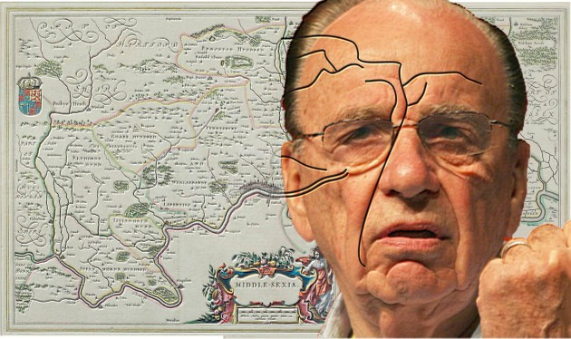 Murdoch and His Map Furrows