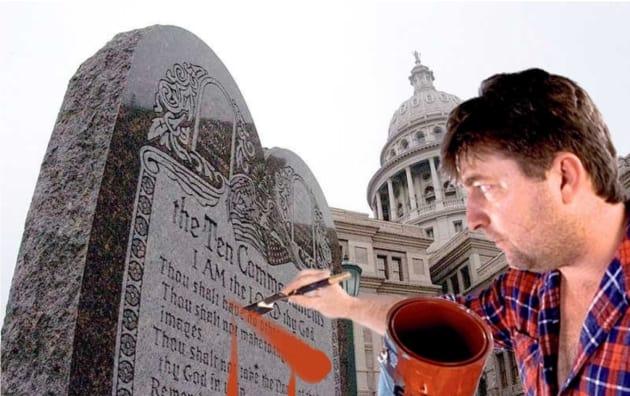 Repealing the Ten Commandments