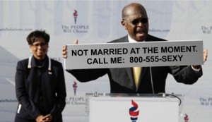 Herman Cain Suspends Marriage
