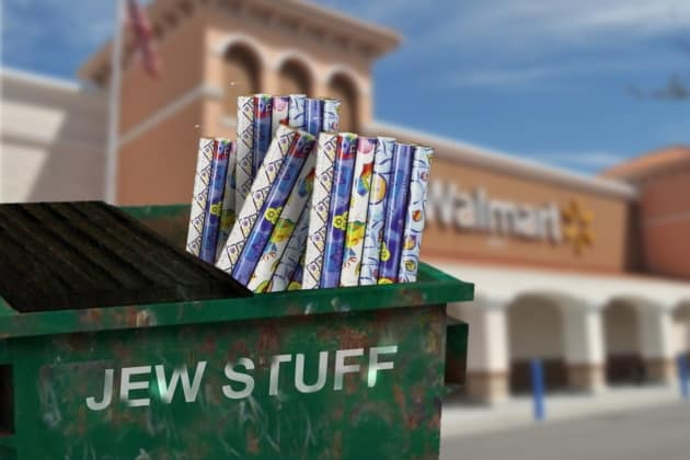 Wal-Mart Apologizes for Carrying Hanukkah Wrapping Paper