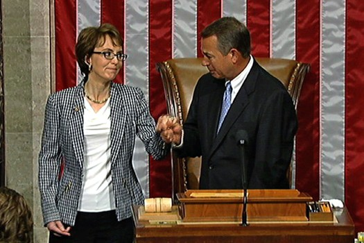 Giffords Resigns