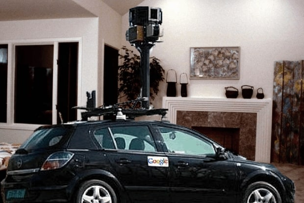 Google takes its Street View program into people's homes