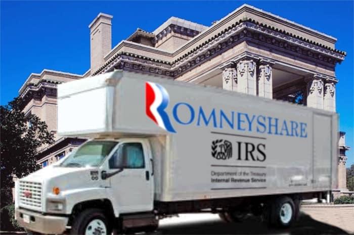 Sharing Mitt Romney's Wealth