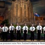 Mormon Protestors Seize New Zealand Embassy