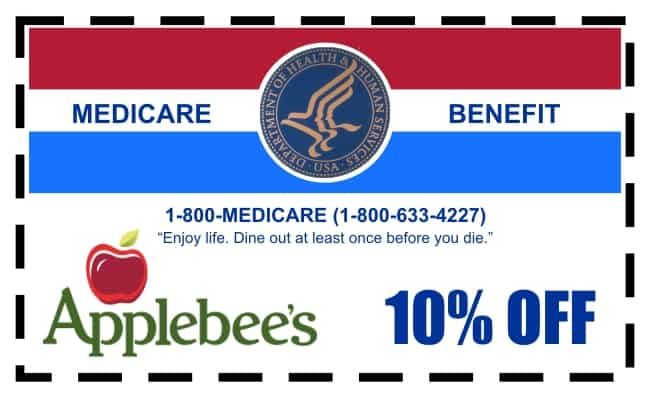 Applebys Coupon to Replace Medicare