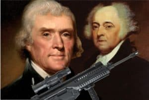 Founding father sought rights for mentally ill to shoot people.