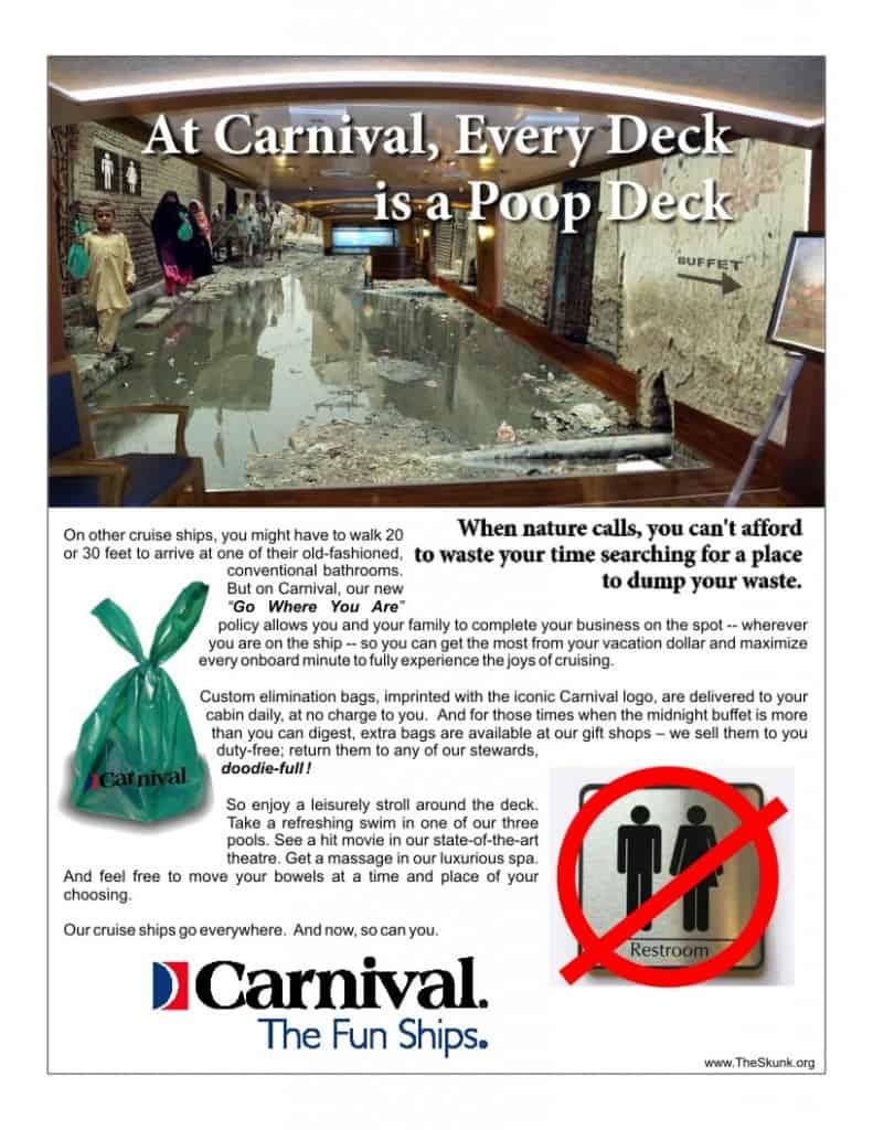 Carnival Poop Deck