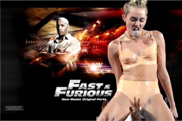 Fast & Furious with Miley Cyrus