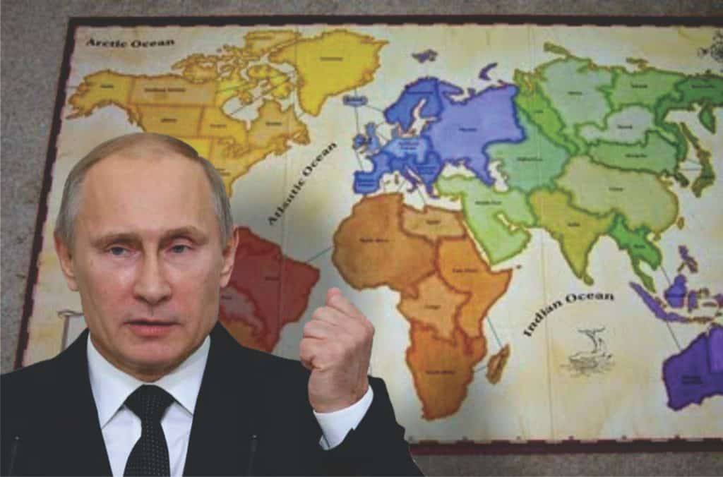 Putin Rolls Triple Sixes: Moves Two More Troops into Position