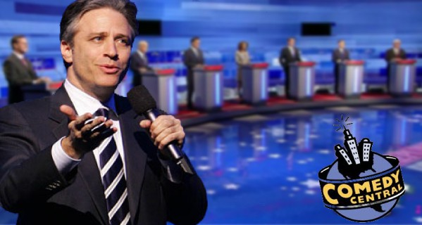 Jon Stewart to Moderate Republican Presidential Debate