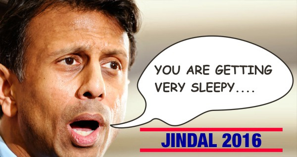 Bobby Jindal Unveils Campaign Strategy to Hypnotize Voters