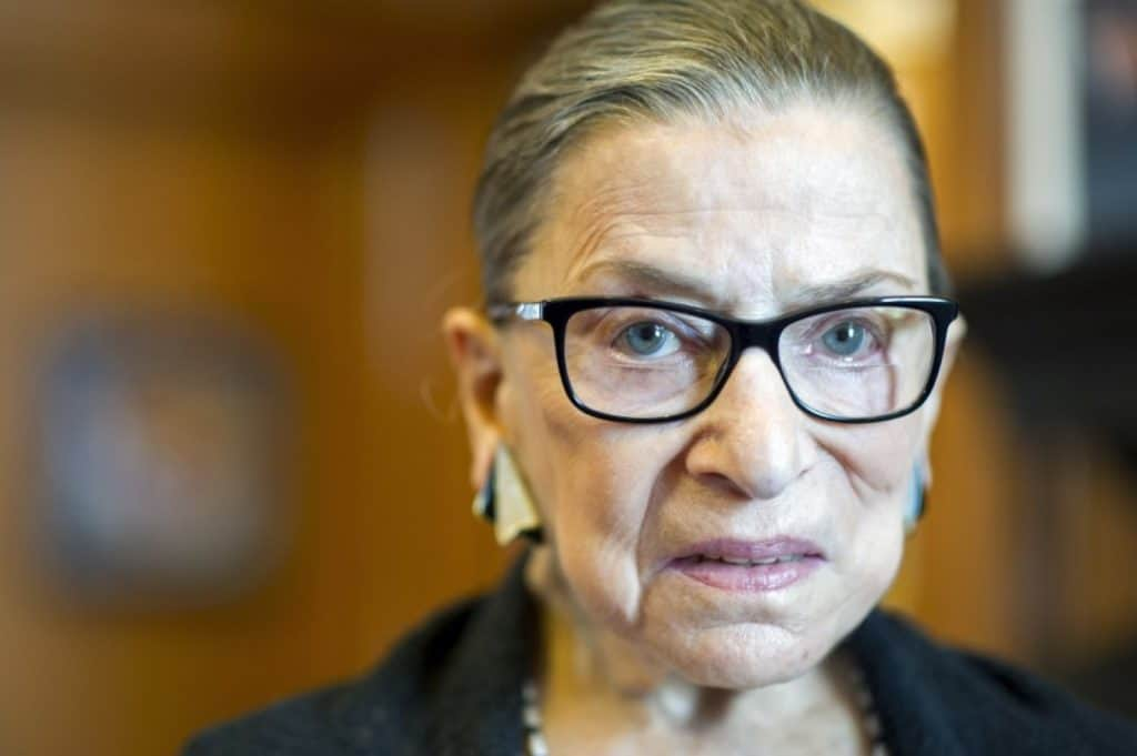 Justice Ginsburg Apologizes for Calling Trump 'A Faker'; Says 'Egomaniacal Shit Stain' More Appropriate