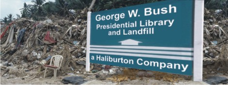 Location of Bush Presidential Library