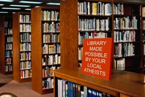 Atheists Build Library for Church