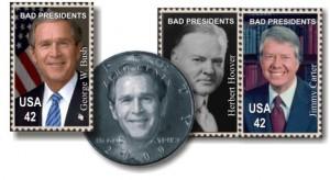 George Bush Gets a Postage Stamp
