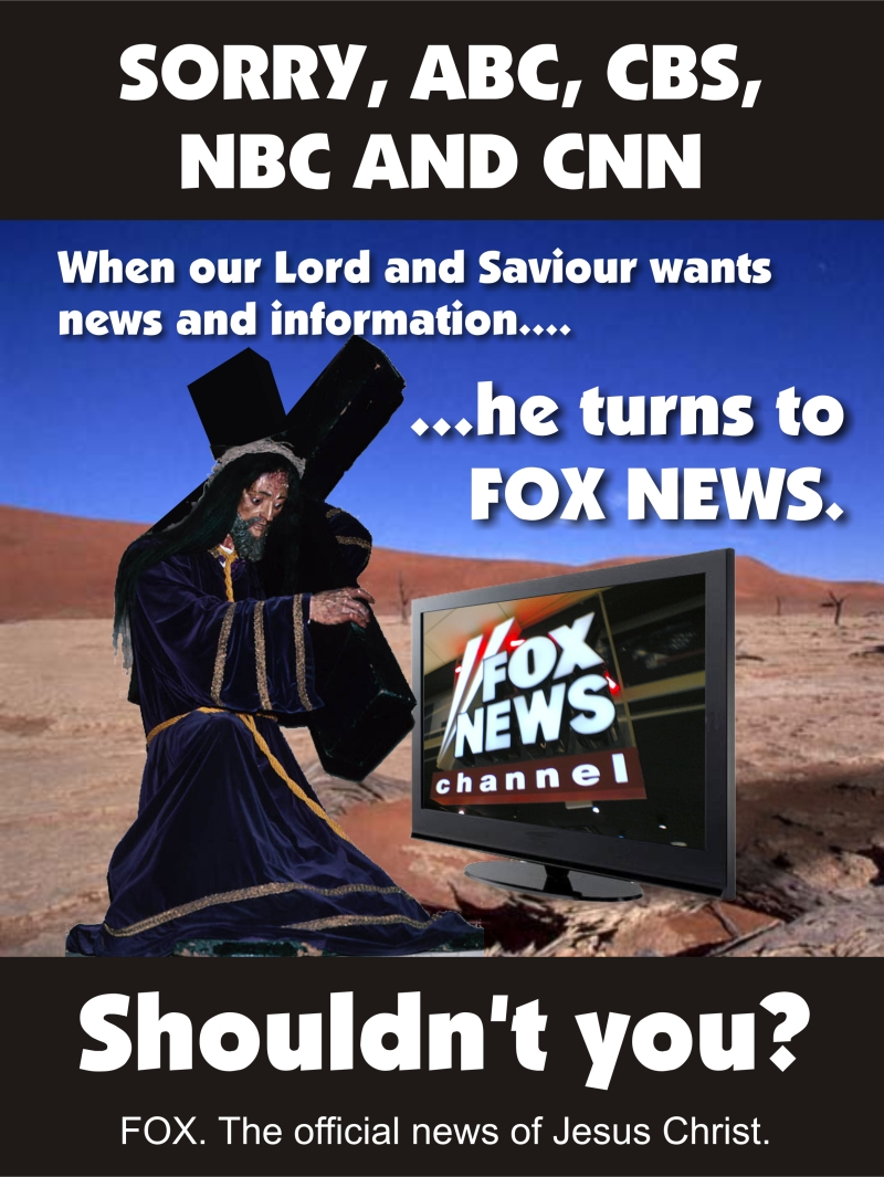 Jesus featured in Fox News ad
