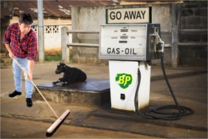 BP Gas station.