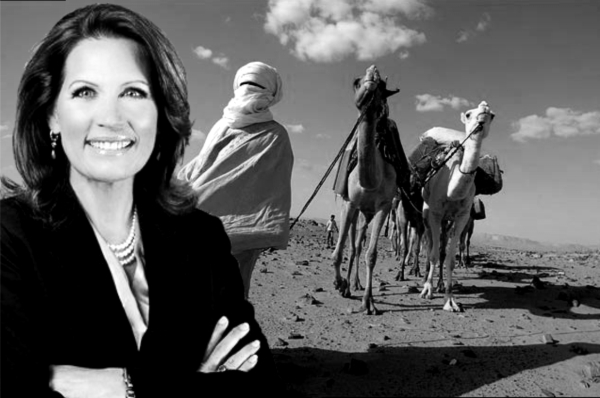 Michele Bachmann wants to replace no-fly zone over Libya.
