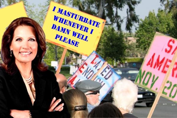 Bachmann Opposes Compulsive Masturbation