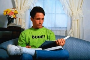Cannot Stop Saying 'Dude'