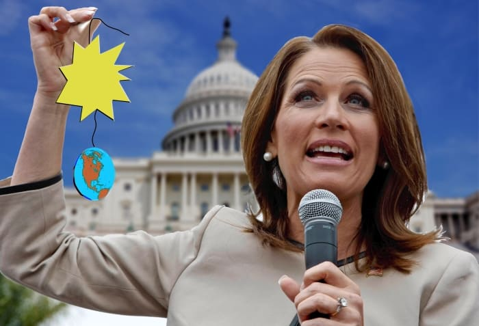 Michelle Bachmann and Universe
