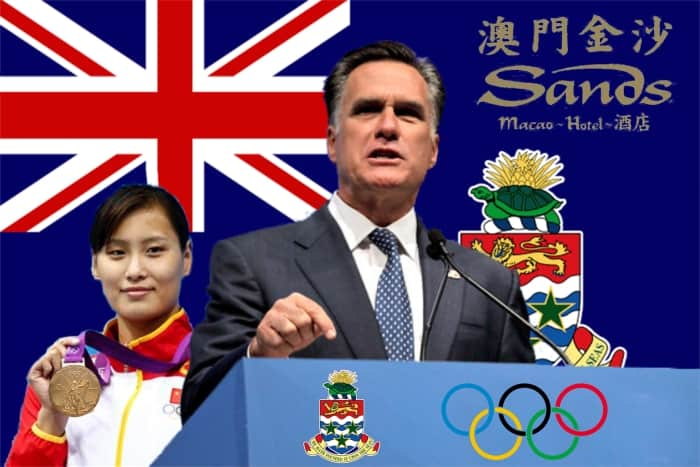 Mitt Romney Outsources Cayman Athletes to China