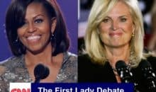 Ann Romney to Denate Michelle Obama
