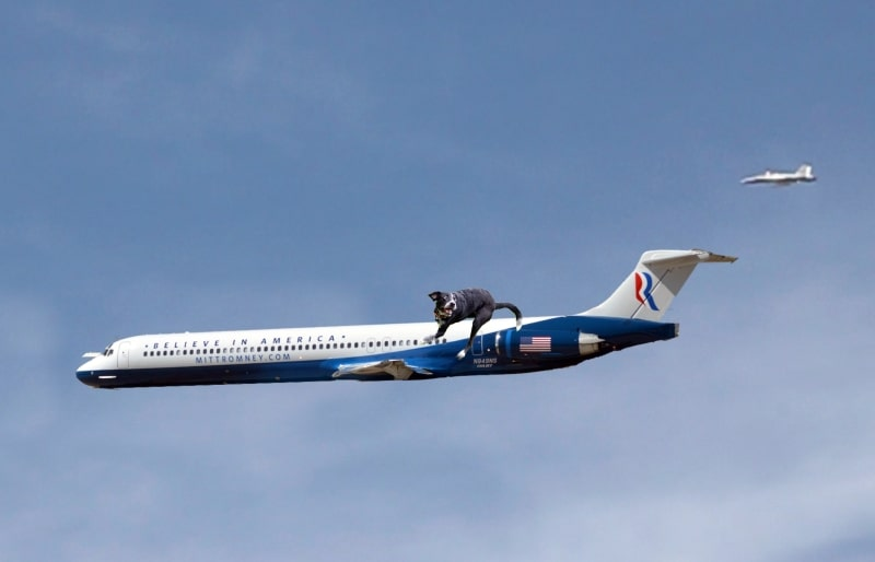 Sitings of Romney's Shuttle Over Southern Calirfornia