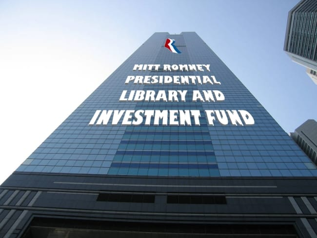 Romney Presidential Library