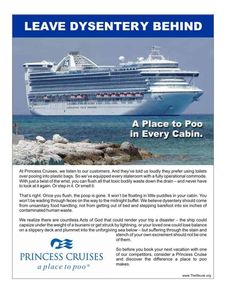 Princess Cruise Ad