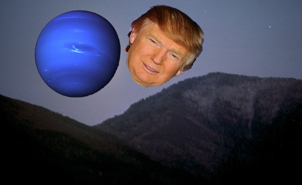 Donald Trump and the planet Uranus